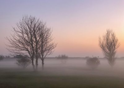 A misty round Andy Lewsey