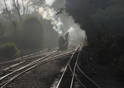 Autumn on the Romney, Hythe and Dymchurch Railway